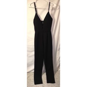 Black Rue21 Strapy Jumpsuit
